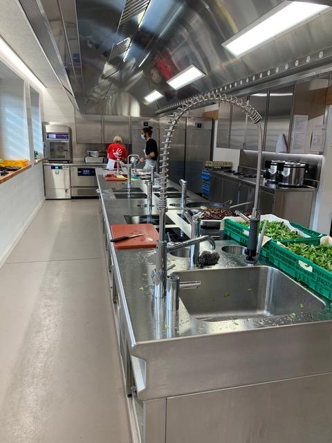 200 TakeAway Meals kitchen